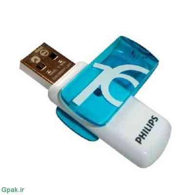 برنامه و نرم افزار تعمیر ، فرمت و رفع رایت پروتکت فلش فیلیپس Philips USB 2.0 Flash Drive Vivid Edition